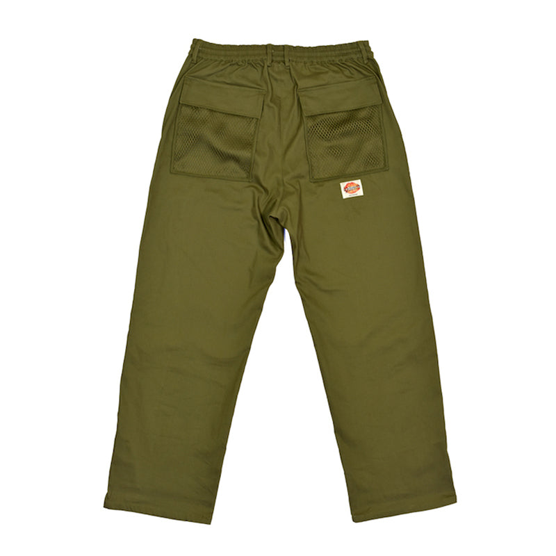 Khaki Net Pocket Fatigue Trousers