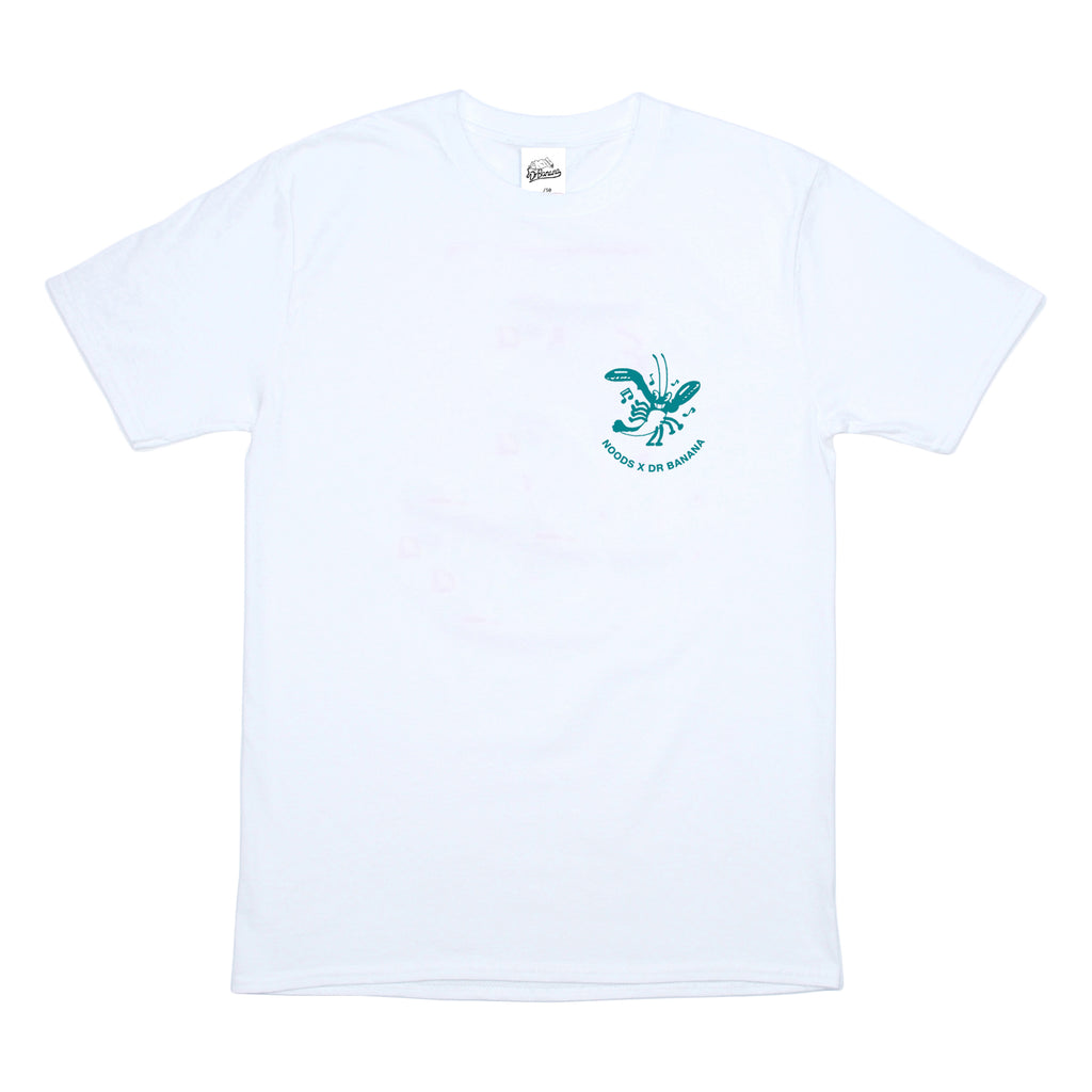 DRB x Noods Doing The Do T-Shirt Turquoise