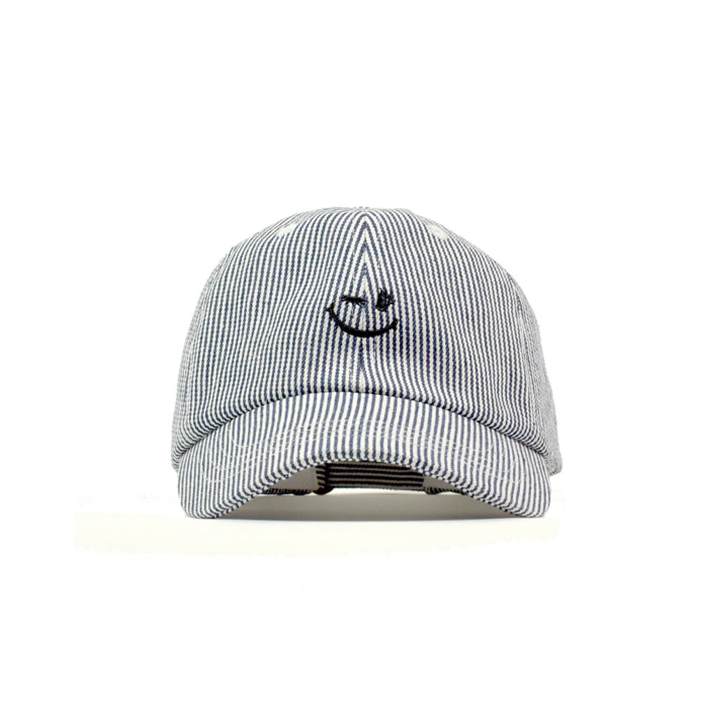 Hickory Stripe Smiler 6 Panel