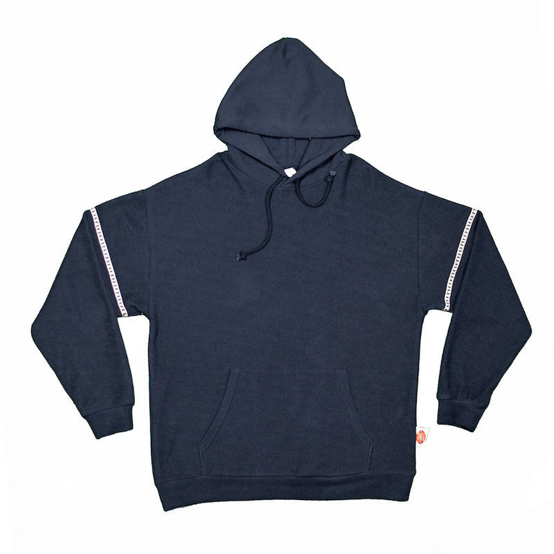 Charcoal Reverse Loopback Armband Hoodie