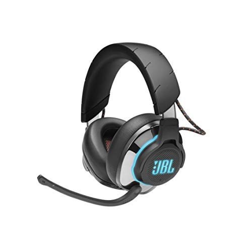 JBL Quantum 800 Wireless Over-Ear Performance Gaming Headset with Active Noise Cancelling and Bluetooth 5.0 - Black (JBLQUANTUM800BLKAM)