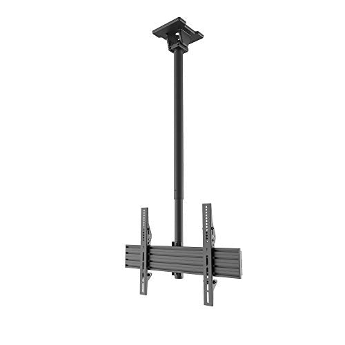 kanto-cm600-telescoping-ceiling-tv-mount-for-37-to-70-inch-flat-screen-tvs-hanging-tv-bracket-with-23-of-height-adjustment-tilt-swivel-design-360-rotation-hidden-cable-management-black-kancm600