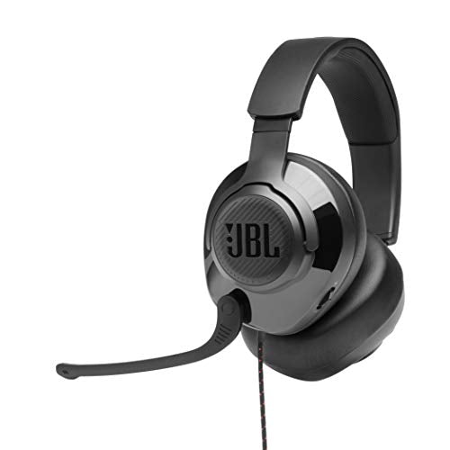 JBL Quantum 300 Wired Over-Ear Gaming Headphones - Black