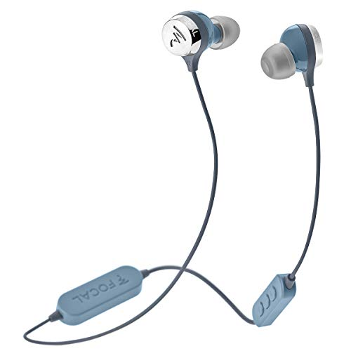 Focal Sphear Wireless in-Ear Headphones with Three-Button Remote and Microphone (Blue)