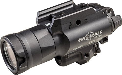 X400UH Ultra Weaponlight with MasterFire RDH Interface, 600 Lumens, Red Laser, Anodized Body