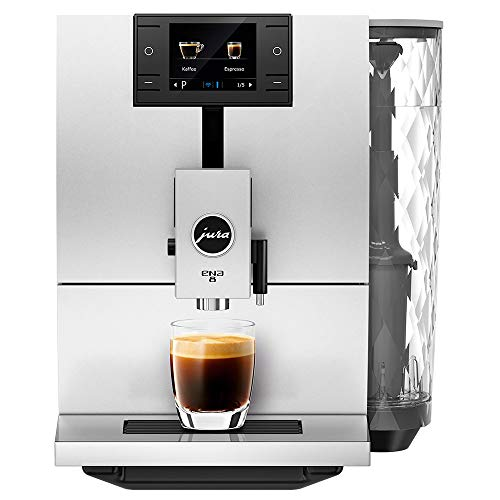 JURA ENA 8 Nordic White Automatic Coffee Machine