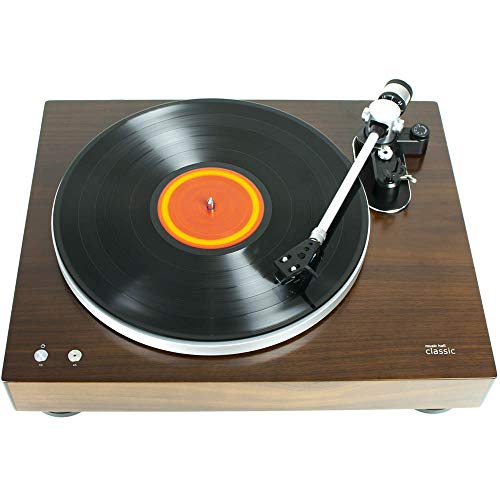 Music Hall Classic Auto-Shut-Off Turntable with Cartridge/Built-in Phono Preamp