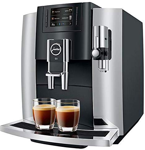 Jura E8 2019 Automatic Coffee Center Chrome