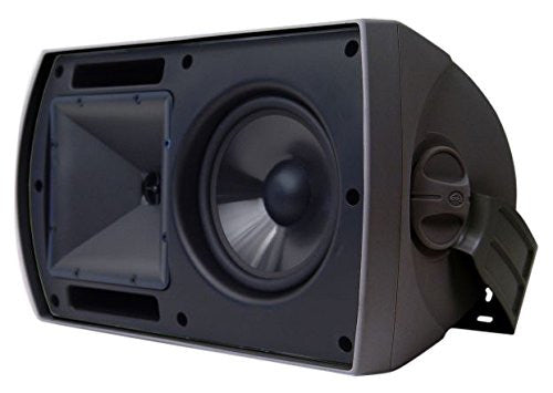 "Klipsch AW-650 6.5"" All-Weather Outdoor Loudspeaker Pair (Black)"