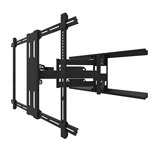 Kanto PDX700G Outdoor Full Motion Articulating Arms TV Wall Mount for 42-inch to 100-inch TVs, Galvanized