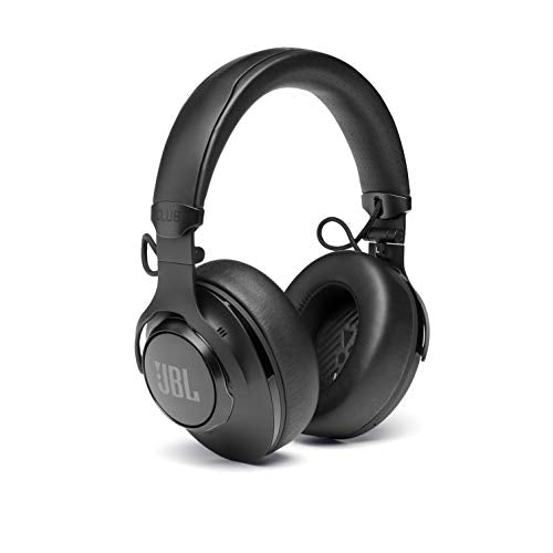 JBL CLUB950 - Premium Wireless Over-Ear Headphones with Hires Sound Quality and Adaptive Noise Cancellation - Black