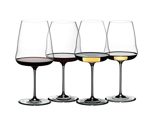 Riedel Winewings Tasting Wine Glass Set, Set of 4, Clear