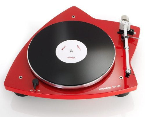 Thorens - TD 209 Turntable in Glossy Red
