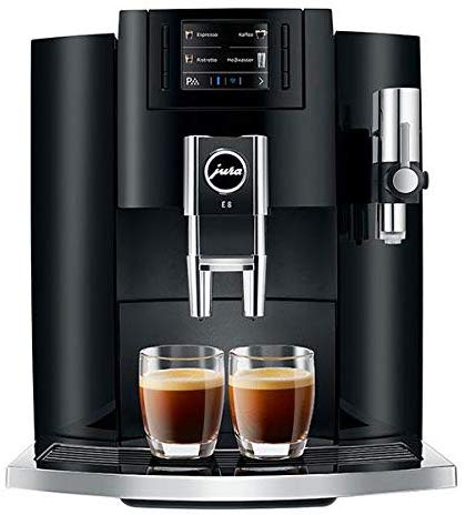Jura E8 15270 Automatic Coffee Center Piano Black