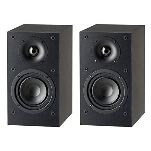 Paradigm Monitor SE Atom Bookshelf Speaker in Matte Black (Pair)