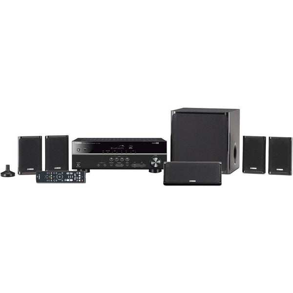 Yamaha YHT-4930U 5 1-Channel Home Theater in a Box System, Black