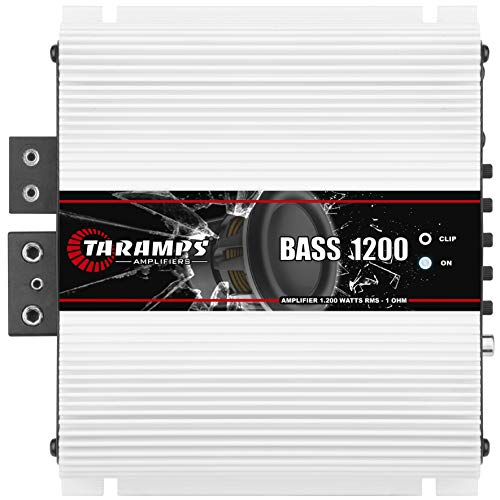 Taramp's BASS 1200 1 Ohm 1.2K Watts Class D Full Range Mono Amplifier