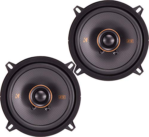"Kicker 47KSS6504 Car Audio 6 1/2"" Component 500W Peak Speakers Pair KSS6504 New"