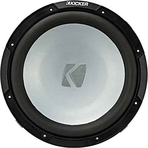 Kicker KMF10 10-inch (25cm) Weather-Proof Subwoofer for Freeair Applications, 2-Ohm