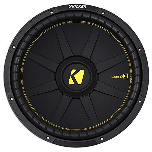 "Kicker CWCS154 CompC 15"" Subwoofer Single Voice Coil 4-Ohm"