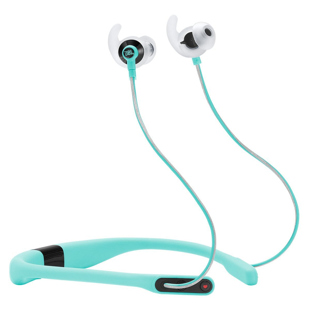 JBL Reflect Fit In-Ear Wireless Headphones with Heart-Rate Monitor (Teal)