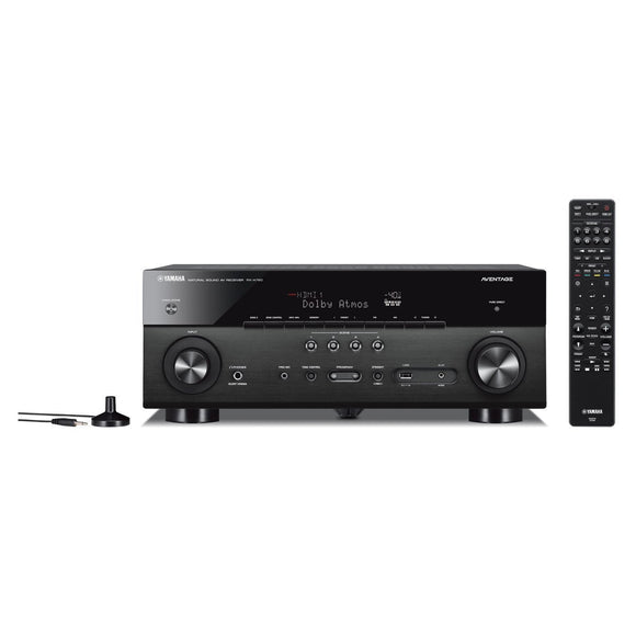 Yamaha RX-A780 AVENTAGE 7.2-Channel 4K Ultra HD AV Receiver with HDR, Dolby Vision, MusicCast. Works with Alexa