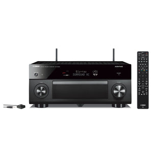Yamaha RX-A3080 AVENTAGE 9.2-Channel AV Receiver with 4K Ultra HD AV Receiver with HDR, Dolby Vision, MusicCast. Works with Alexa