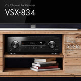 Pioneer VSX-834 7.2-Channel AV Receiver