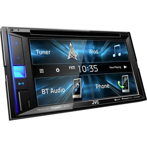 "JVC KW-V250BT 6.2"" CD/DVD Receiver w/ USB Input and Bluetooth"