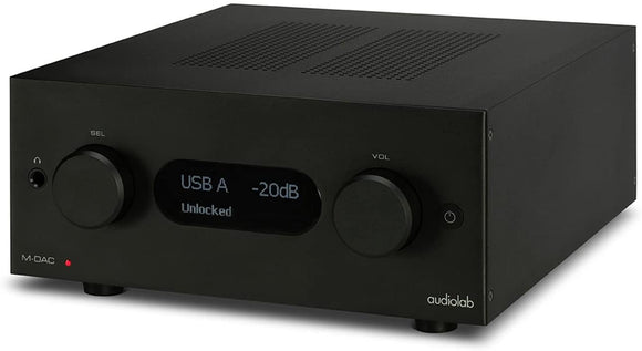 Audiolab AAV-MDACPLUS Digital Audio Converter Pre-Amplifier - Black