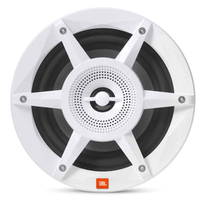 "JBL MW6520AM - Stadium Marine MW6520 White 6.5"" Premium 2-Way RGB LED Coaxial Speakers"