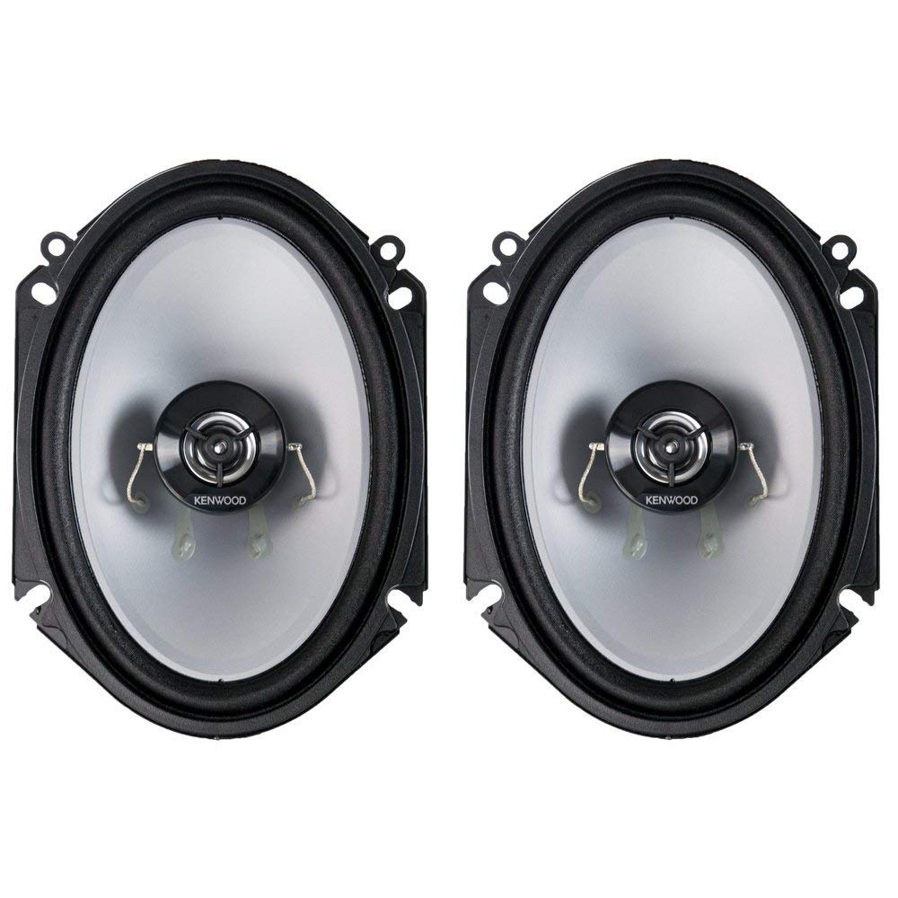 "Kenwood KFC-C6866S 6""x8"" 2-way Car Speakers"