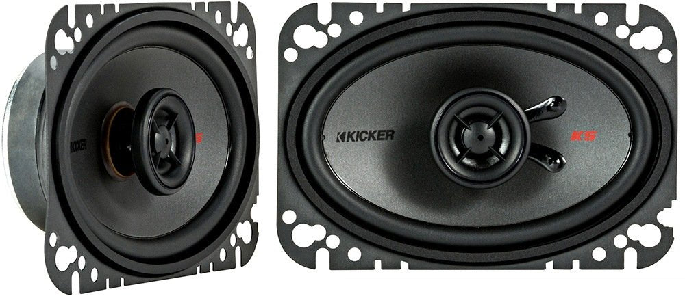 "Kicker KSC4604 4""x6"" 2-Way Car Speakers"