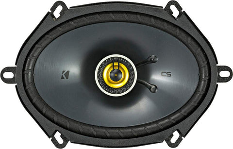 Kicker 46CSC684 Car Audio 6x8 5x7 Coaxial Full Range Stereo Speakers