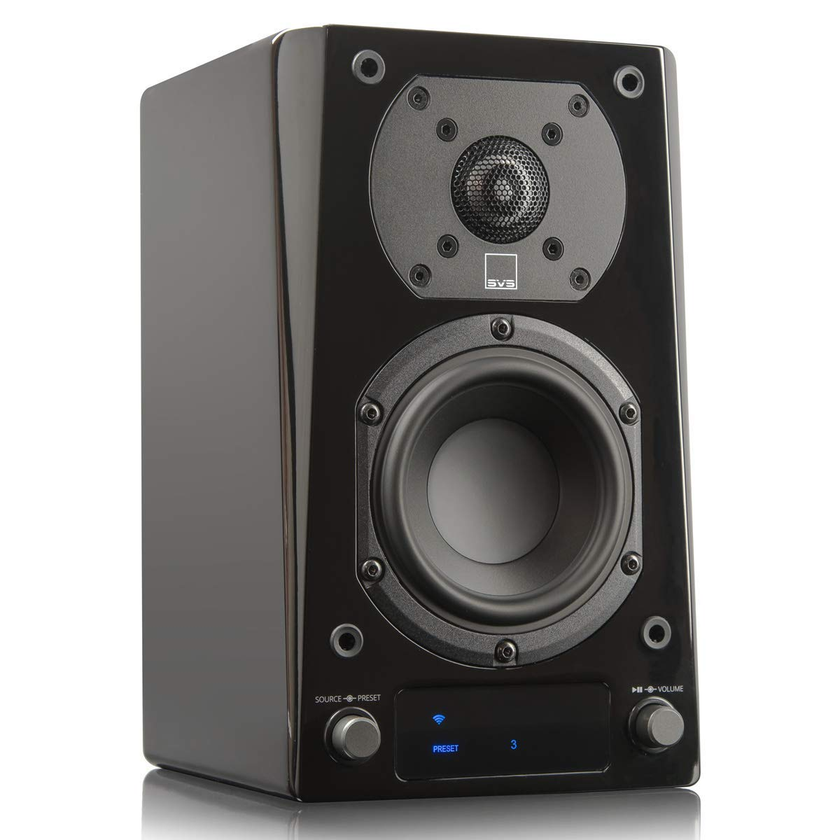 SVS Prime Wireless Powered Active Speaker - Each (Piano Gloss)