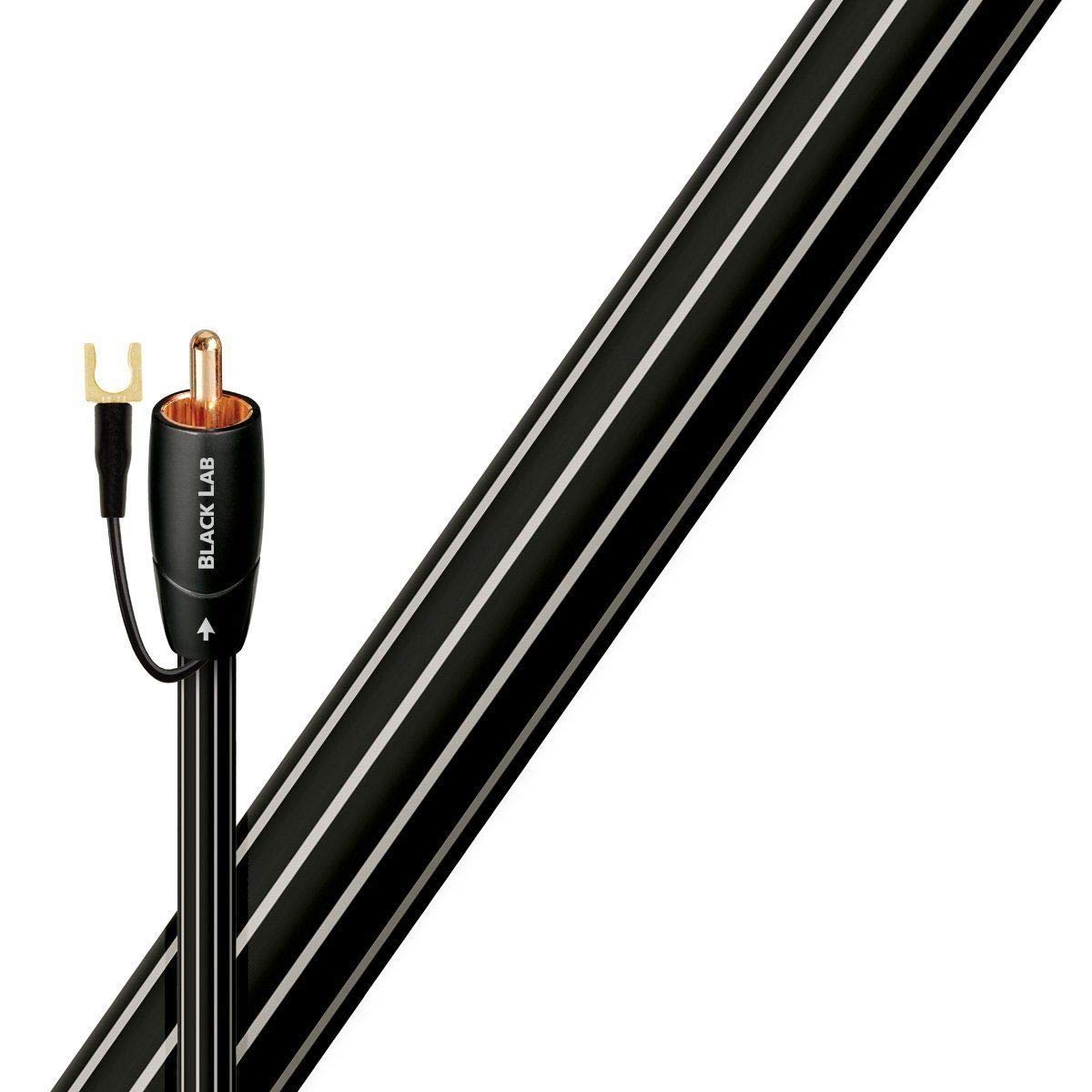 AudioQuest Black Lab 2m Subwoofer Cable (2meters/6 feet)
