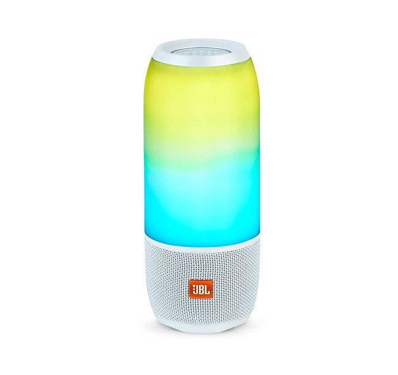 JBL Pulse 3 Wireless Bluetooth IPX7 Waterproof Speaker (White)
