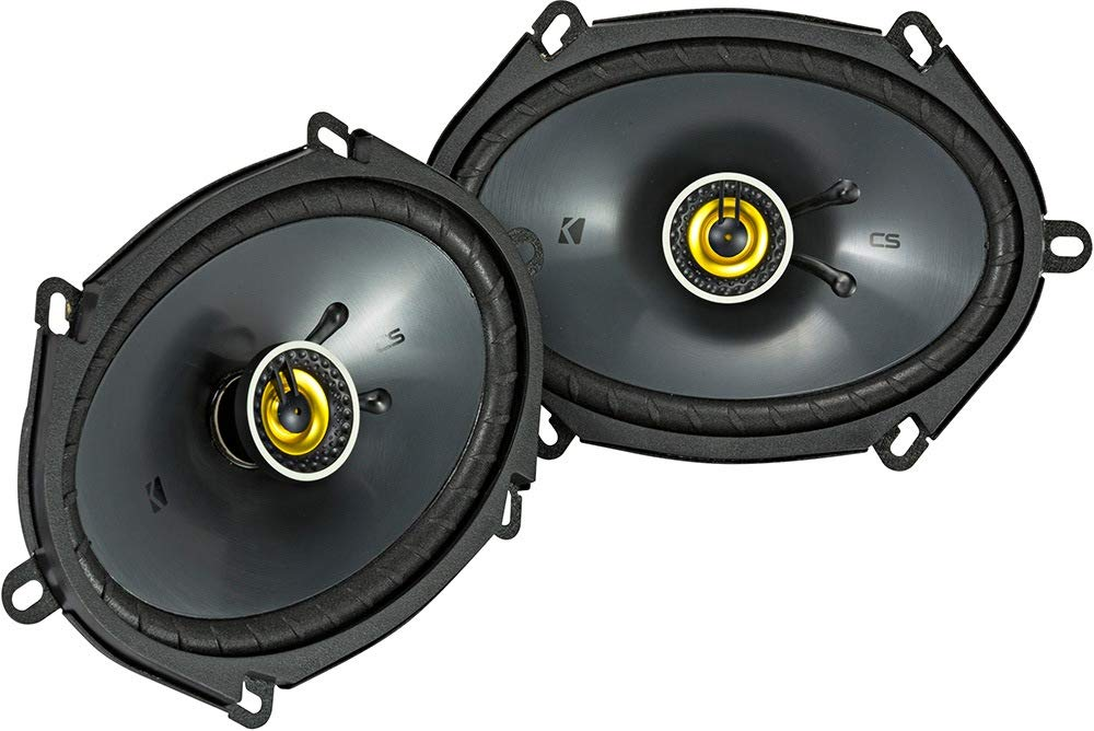 Kicker 46CSC684 Car Audio 6x8 Coaxial Full Range Stereo Speakers