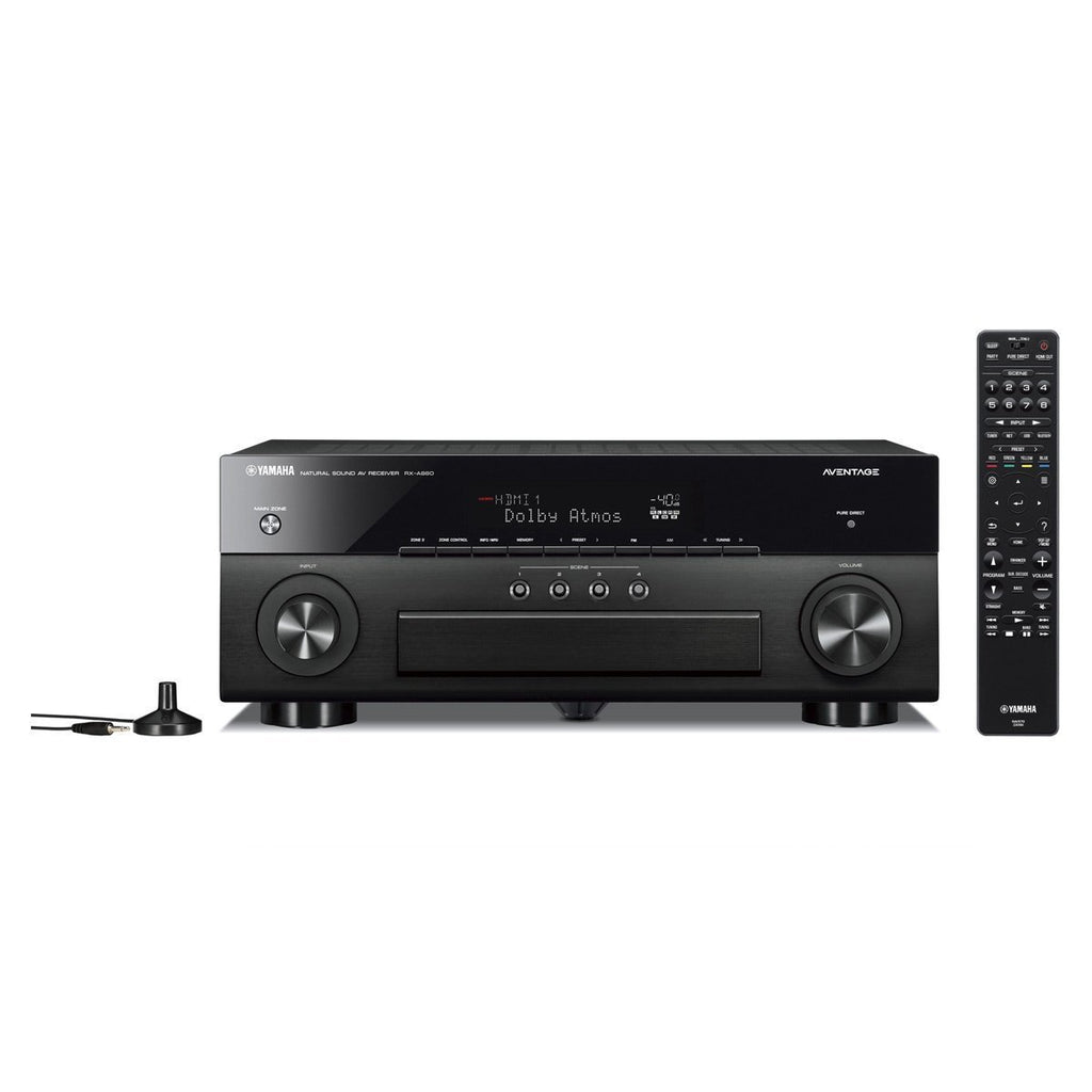 Yamaha RX-A880 AVENTAGE 7.2-Channel AV Receiver with 4K Ultra HD AV Receiver with HDR, Dolby Vision, Wi-Fi, and MusicCast. Works with Alexa