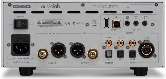 Audiolab M-DAC+ High-Performance Multi-Purpose Audio DAC - Silver