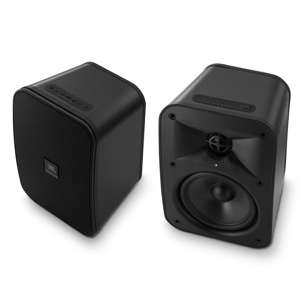 "JBL Control X Wireless 5.25"" Portable Stereo Bluetooth Speakers-Pair (Graphite)"
