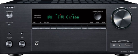 Onkyo TX-NR696 7.2-Channel Network A/V Receiver with Dolby Atmos and DTS:X