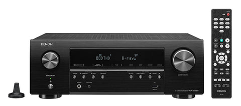 Denon AVRS540BT 5.2 ChANNEL 4K Ultra HD AV Receiver with Bluetooth and Dolby Vision