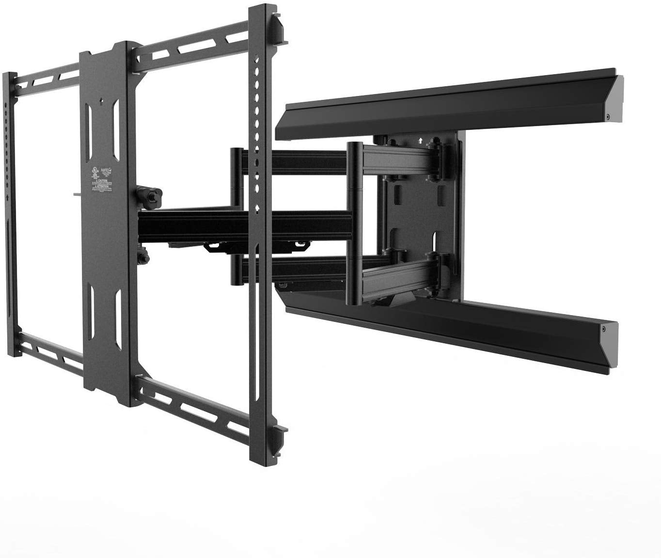 "Kanto Full Motion PMX680 Pro Series Mount for 39"" to 80"" Flat Panel TVs, Black…"