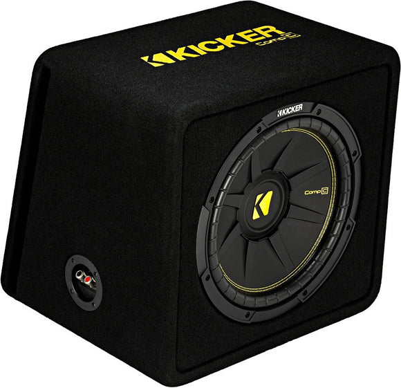 Kicker 44VCWC122 Ported Enclosure With one 2-ohm 12