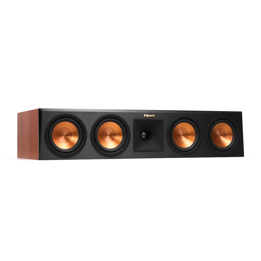 Klipsch RP-450C Reference Premiere Center Channel Speaker with Quad 5.25 inch Cerametallic Cone Woofers - Each (Ebony)