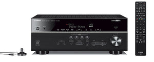 Yamaha RX-V685BL 7.2-Channel 4K Ultra HD AV Receiver with Wi-Fi Bluetooth (OPEN BOX-LIKE NEW)
