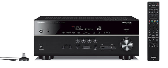Yamaha RX-V685BL 7.2-Channel 4K Ultra HD AV Receiver with Wi-Fi Bluetooth and MusicCast Works with Alexa