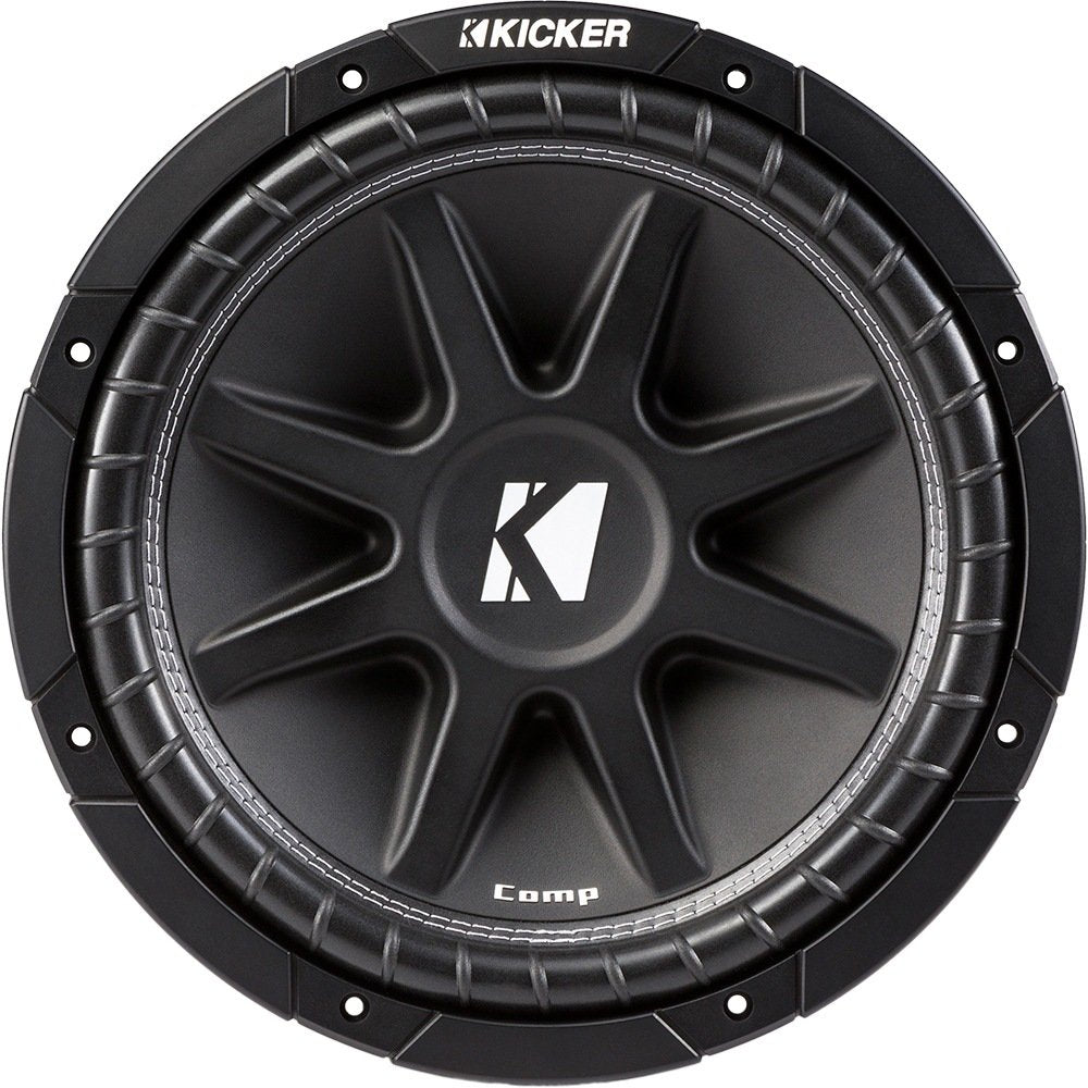 "Kicker 43C124 Comp Series 12"" 4-ohm Subwoofer"