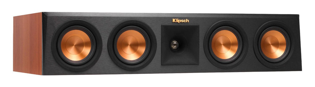 Klipsch RP-440C Reference Premiere Center Channel Speaker with Quad 4 inch Cerametallic Cone Woofers - Each (Ebony)